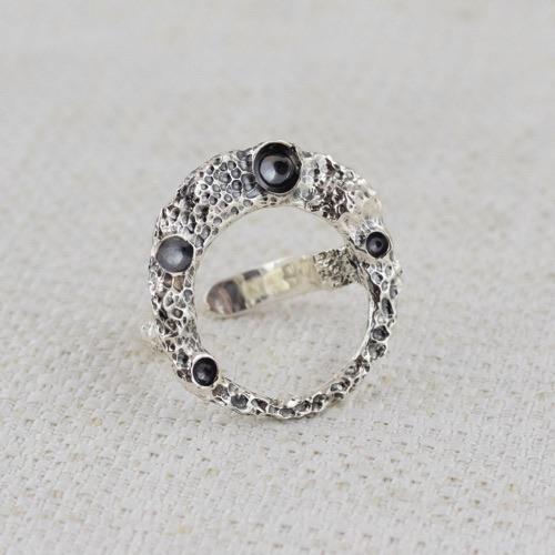 Anello Moon Ring con Bruniture 4